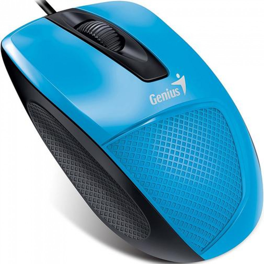 Мыша Genius DX-150X USB Black/Blue  (31010231102)